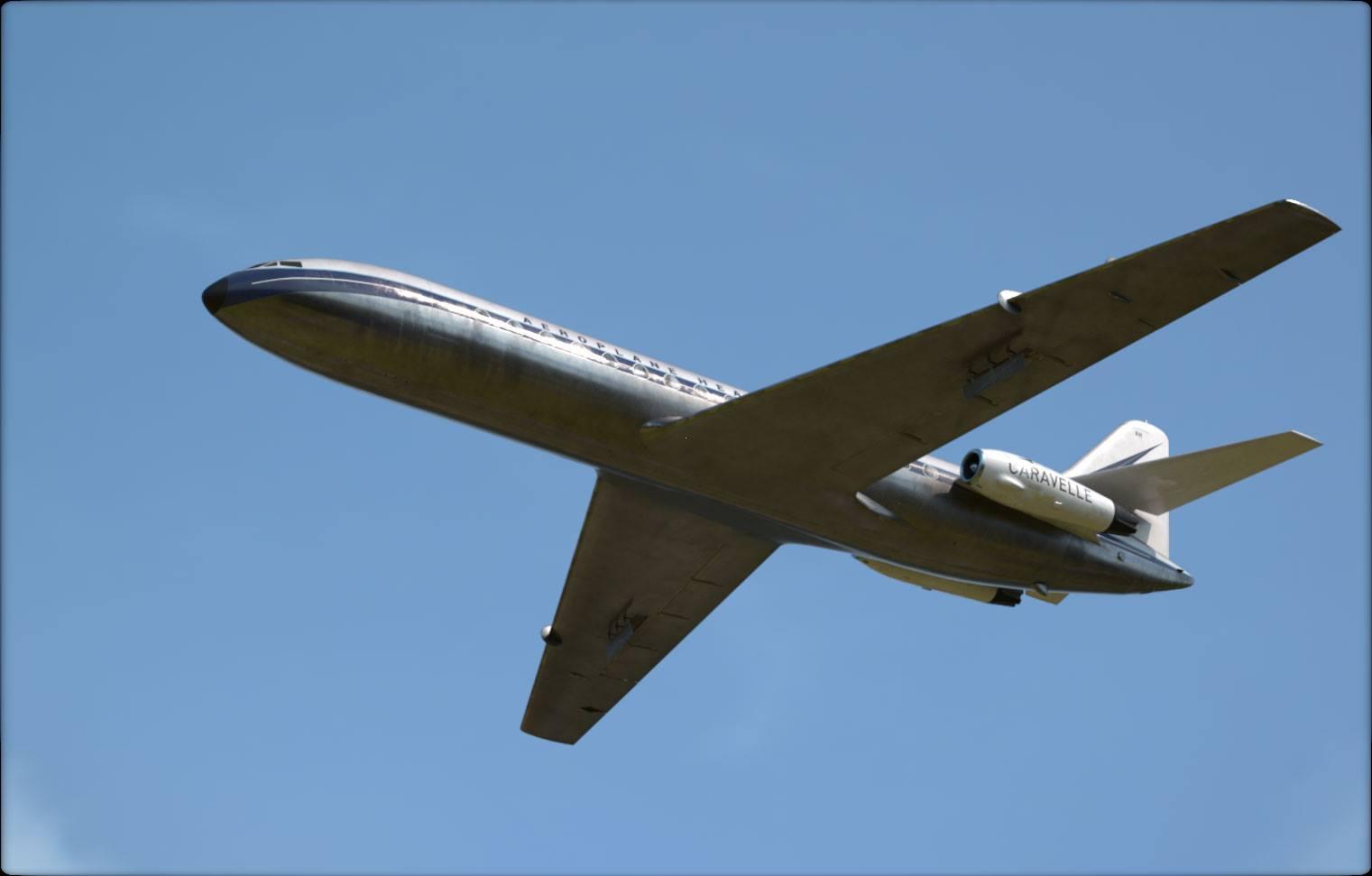 Aeroplane Heaven montre sa Caravelle pour P3D V4.4