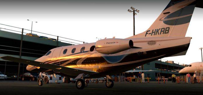 Carenado annonce le Beechcraft 390 Premier IA