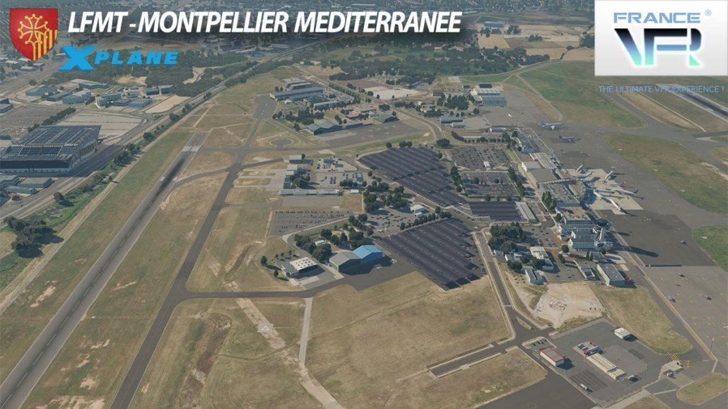 LFMT - Montpellier Méditerranée pour X-Plane