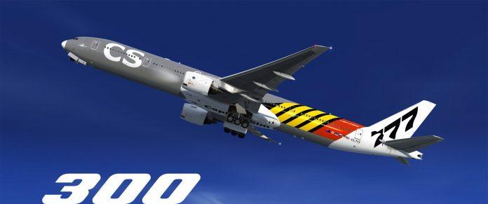 L'extension 777-300 du 777 Capatain est disponible