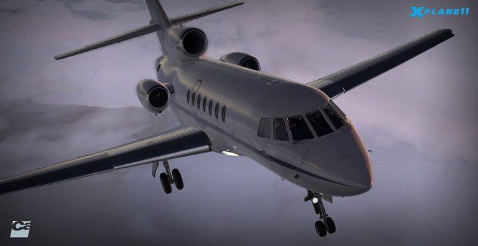 Carenado annonce le Dassault Falcon 50 pour X-Plane