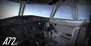 Carenado indique le développement de l'ATR 72-500