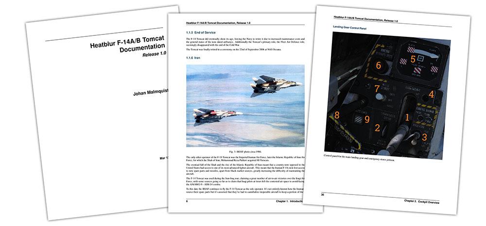 DCS F-14 Documentation