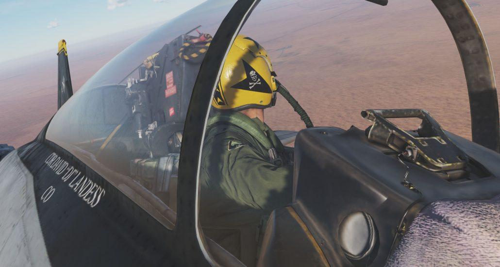 Test du HeatBlur Grumman F-14B Tomcat pour DCS World - Jester IA