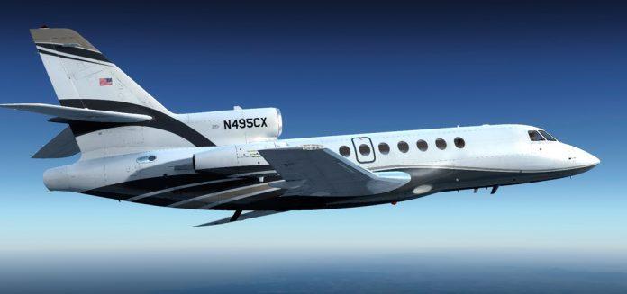 Falcon 50 EX FA50 EX Carenado