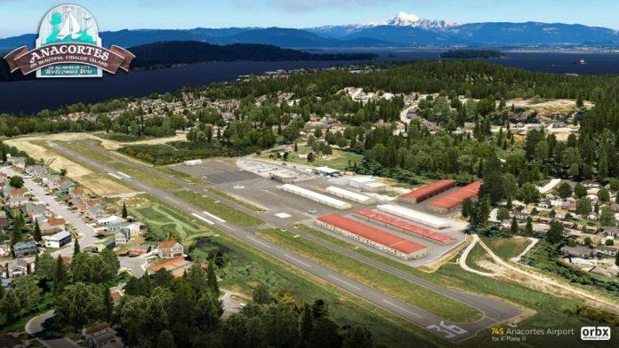 Le 74S Anacortes Airport fait le saut vers X-Plane 11