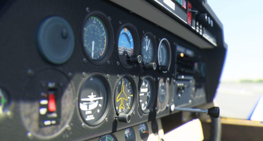Microsoft Flight Simulator 2020 disponible - DR 400 Cockpit