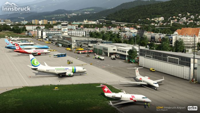 Orbx annonce LOWI Innsbruck Airport pour X-Plane 11!