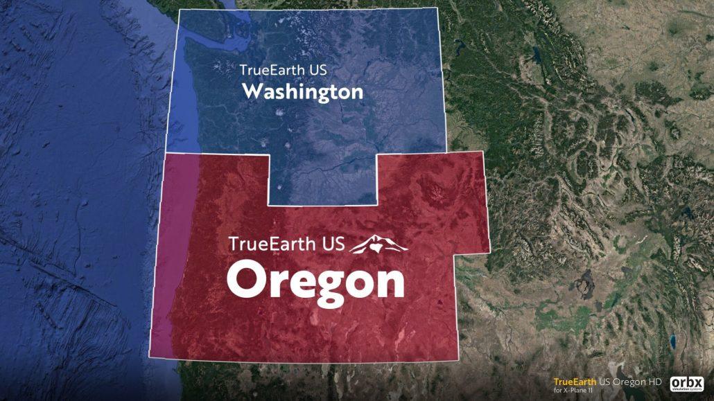 Orbx annonce TrueEarth US Oregon