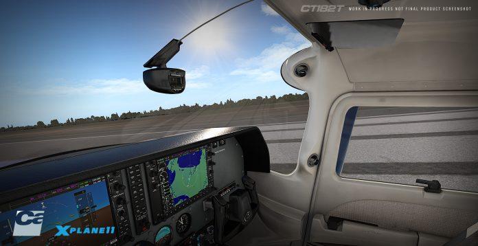 Carenado annonce le Cessna T182T Skylane pour X-Plane