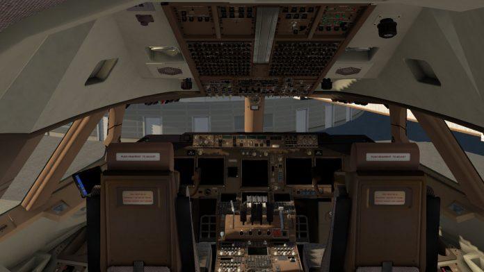 Décollage du SSG Boeing 747-8i Version 2