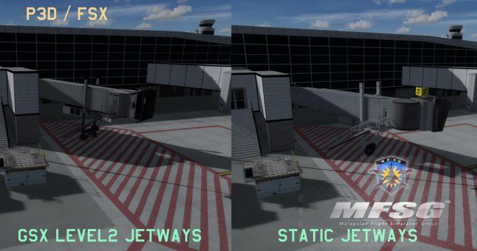 La scène de Jean-Lesage de Québec (CYQB) par MFSG est disponible pour FS2004, FSX et Prepar3D