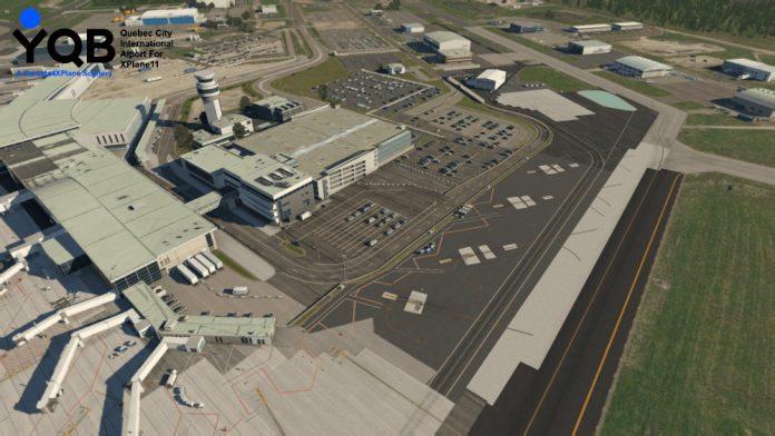 Canada4XPlane propose Quebec City pour X-Plane