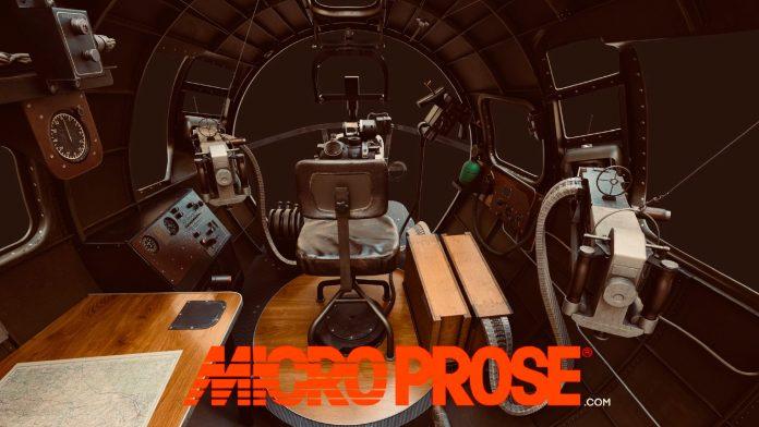 Microprose développe actuellement un simulateur de B-17 Flying Fortress