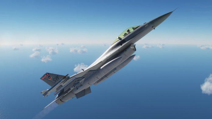 Test du F-16C Viper de Eagle Dynamics