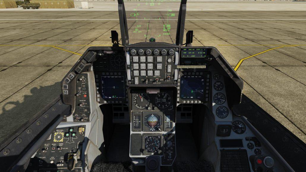 Test du F-16C Viper de Eagle Dynamics Cockpit