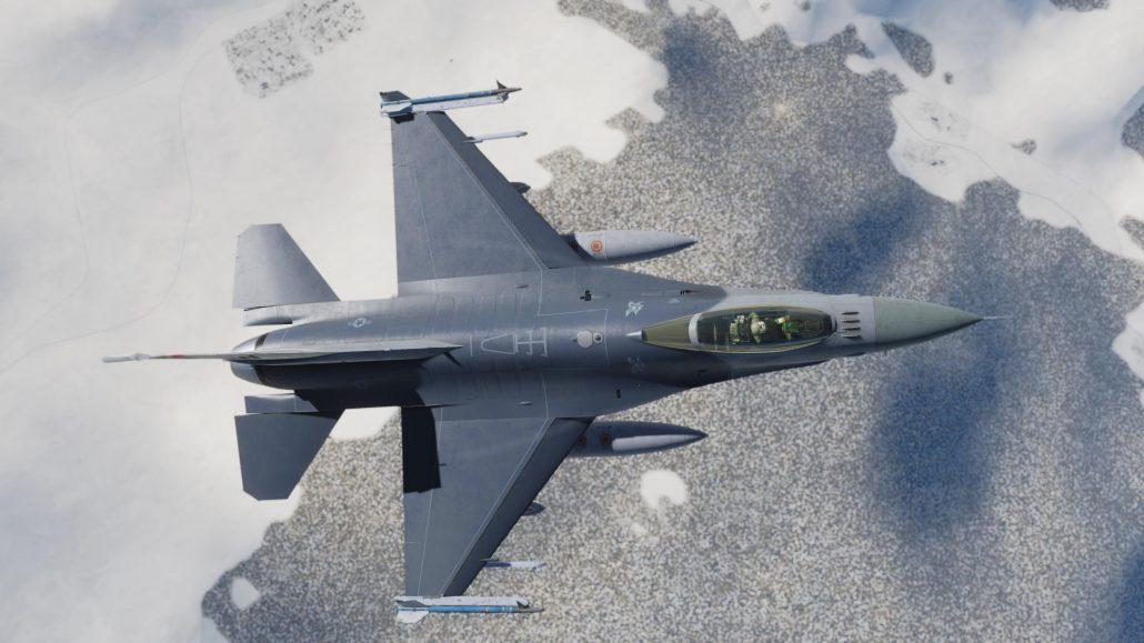Test du F-16C Viper de Eagle Dynamics Flight