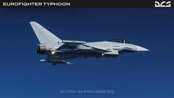 Bientôt un Eurofighter Typhoon dans DCS World