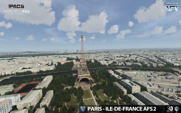 Paris Ile de France VFR disponible pour Aerofly FS 2