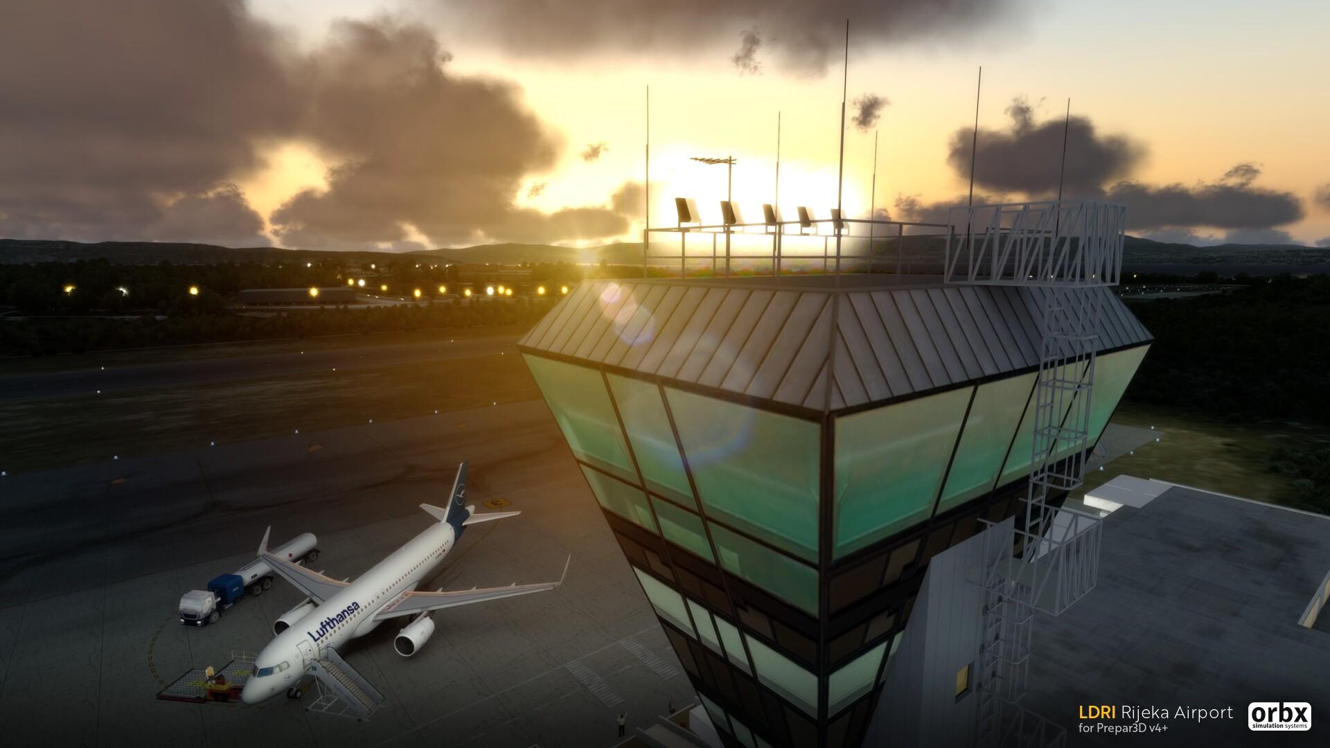 LDRI Rijeka Airport Released for P3Dv4+