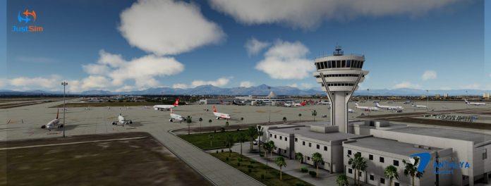 JustSim propose l'aéroport international d'Antalya V2