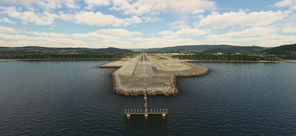 Aerosoft annonce Trondheim pour Microsoft Flight Simulator