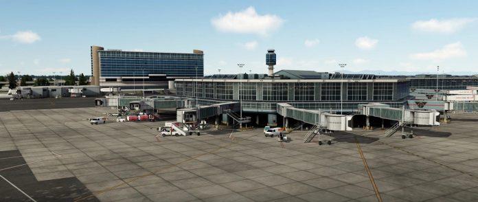 L'aéroport international de Vancouver par FSimStudios est disponible pour Prepar3D